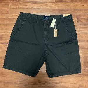 American Eagle Men's Classic Dark Grey Shorts